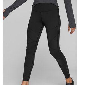 Athleta Sophia Moto Street Tight Legging in Black